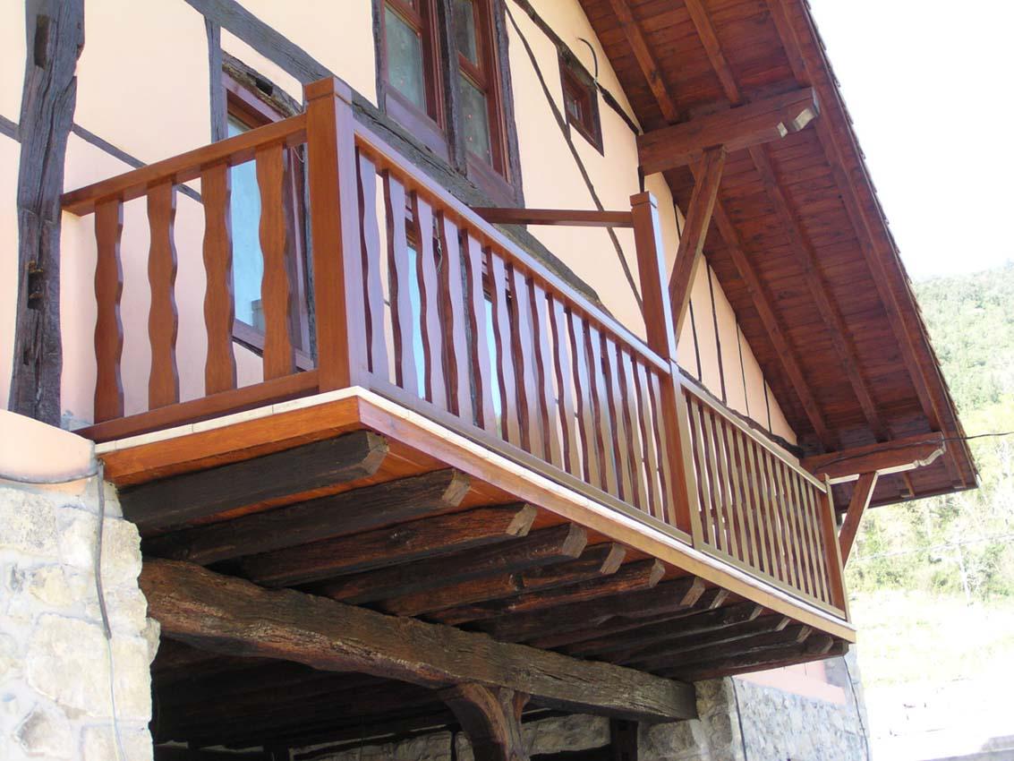 Carpinteria mallukiza - Barandillas madera exterior ...